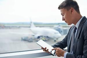 Mobilidade em viagens corporativas