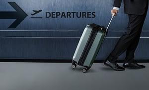 viajar com bagagem ou sem bagagem
