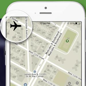 Tela do app Maps.me